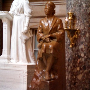 Rosa Parks statue in the U.S. Capitol. Photo credit: Tracy Clark
