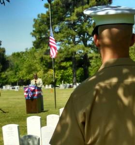 2015 Memorial Day, Calvary Cemetery, Norfolk VA