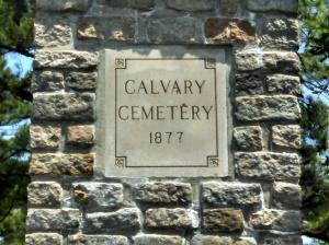 Calvary Cemetery, Norfolk VA